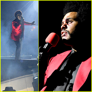 The Weeknd Opens MTV VMAs 2020 with 'Blinding Lights' Performance & Massive Fireworks Display! (Video)