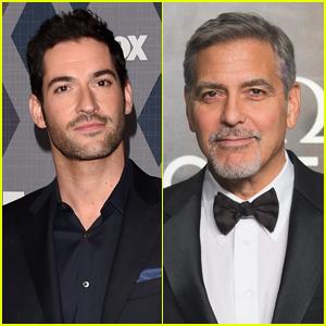 'Lucifer' Star Tom Ellis Met George Clooney in a Women's Bathrobe!