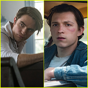 Netflix Shares First Look Pics of Robert Pattinson & Tom Holland in 'The Devil All The Time'