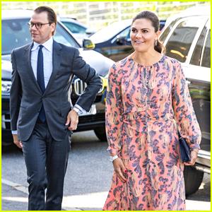 Sweden's Princess Victoria & Husband Prince Daniel Don't Wear Face Masks On Official Visit - Here's Why