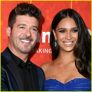 April Love Geary Is Pregnant, Expecting Third Child with Robin Thicke! (Report)