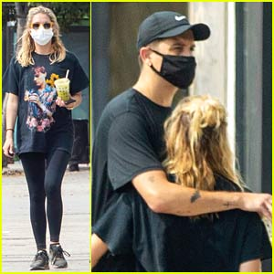 Ashley Benson & G-Eazy Flaunt Some Cute PDA While Getting Smoothies