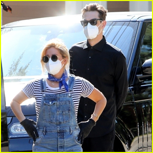 Pregnant Ashley Tisdale & Husband Christopher French Go House Hunting in L.A.