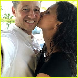 Ben McKenzie & Morena Baccarin Joke About Aging on His 42nd Birthday