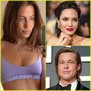 Brad Pitt's Rumored New Flame Nicole Poturalski Responds to a Question About Angelina Jolie