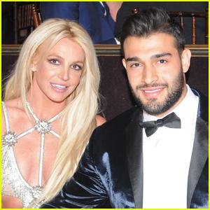 Someone Said Britney Spears' Instagram is 'Scary' & Her Boyfriend Sam Asghari Clapped Back