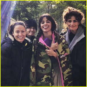'Cinderella' Director Shares Photo of Camila Cabello & Idina Menzel on Set & Says There's 'No Villains in This Movie'