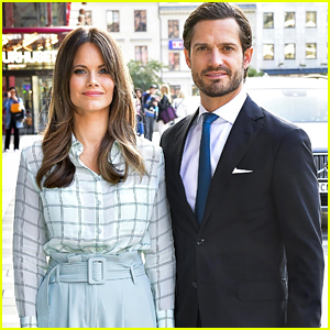 Sweden's Prince Carl Philip & Princess Sofia Make It a Date Night Out at The Theatre