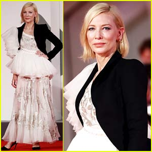 Cate Blanchett Shows Off Her Cool Style at Latest Venice Premiere!