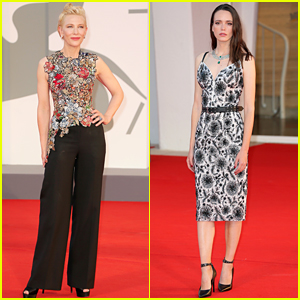 Cate Blanchett Joins 'Lovers' Star Stacy Martin at the Venice Film Festival Premiere!