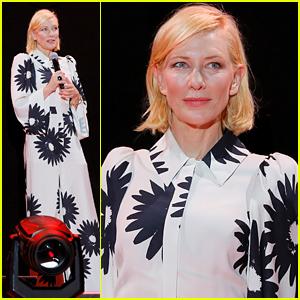 Cate Blanchett Wears Stella McCartney For A Screening of Her Series 'Mrs. America' in Venice