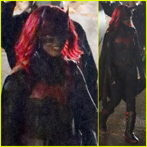 Javicia Leslie Films 'Batwoman' - See the First Photos on Set!