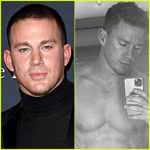 Channing Tatum's Body Looks Better Than Ever in New Shirtless Selfie!