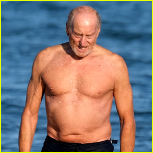 Game of Thrones' Charles Dance Shows Off Fit Body at the Beach at 73