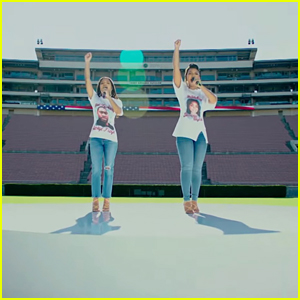 Chloe x Halle Kick Off NFL Season by Performing National Anthem - Watch Now!
