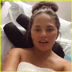 Chrissy Teigen Updates Fans After Getting a Blood Transfusion
