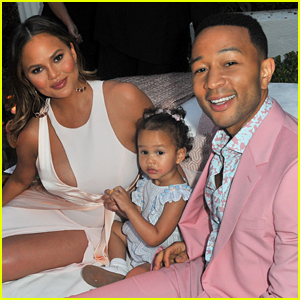 Chrissy Teigen & John Legend's Daughter Has Started Sneaking Out of Her Bedroom at Night Using This Technique