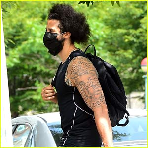 Colin Kaepernick Spotted in New York After NFL Kicks Off New Season