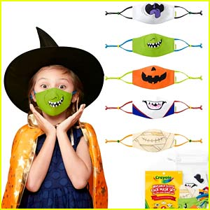 Crayola Is Selling the Cutest Halloween Face Masks for Both Kids & Adults!