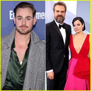 Dacre Montgomery Reacts To David Harbour's Vegas Wedding to Lily Allen