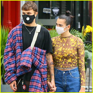 Dua Lipa & Anwar Hadid Run More Errands Together After A Date Night