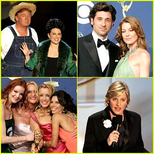 The Emmys from 15 Years Ago Marked a Very Different Time in Hollywood - Look Back with These Photos!