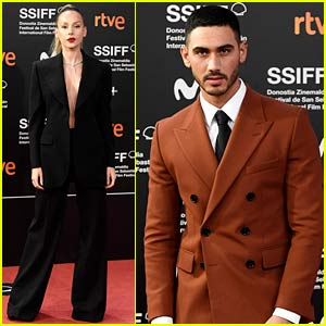 Elite's Ester Expósito & Boyfriend Alejandro Speitzer Step Out at Film Festival in Spain!