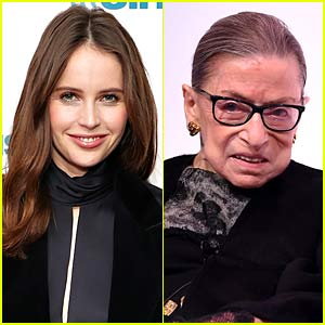 'On the Basis of Sex' Actress Felicity Jones Pays Tribute to the Late Ruth Bader Ginsburg