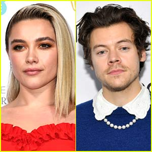 Florence Pugh Reacts to Harry Styles Joining Her in 'Don't Worry Darling' Movie