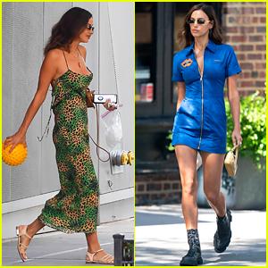 Irina Shayk Looks So Chic in These Two New York City Sightings!