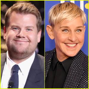 James Corden Finally Addresses Rumor That He's Replacing Ellen DeGeneres