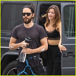 Jared Leto Spotted at Rock Climbing Gym with Valery Kaufman, His Longtime Rumored Girlfriend!