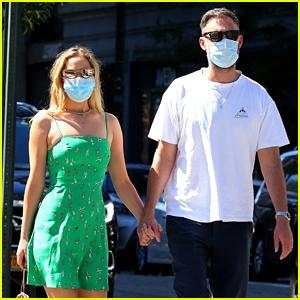 Jennifer Lawrence & Husband Cooke Maroney Hold Hands on a Stroll Around New York!