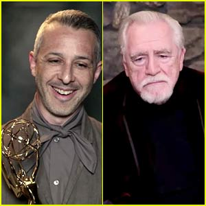 Succession's Jeremy Strong Dedicates His Emmy Win to Co-Star Brian Cox!