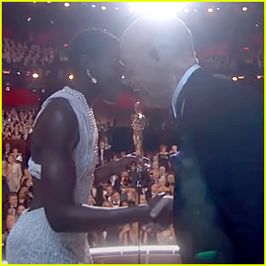 JK Simmons Remembers Headbutting Lupita Nyong'o After Winning at The Oscars