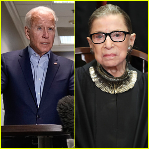 Joe Biden Calls Ruth Bader Ginsburg A 'Fierce & Unflinching' Giant in Her Profession
