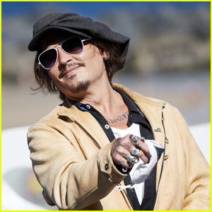 Johnny Depp Is All Smiles at San Sebastian International Film Festival