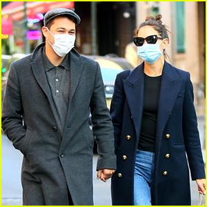 Katie Holmes Runs A Few Errands With New Boyfriend Emilio Vitolo in NYC
