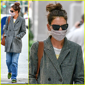 Katie Holmes Runs Errands After Spending Time With Boyfriend Emilio Vitolo
