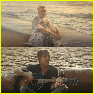 Keith Urban & P!nk Are Shipwrecked Apart In 'One Too Many' Music Video