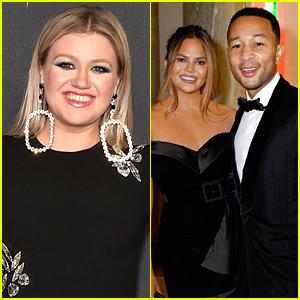 Kelly Clarkson Sent John Legend & Chrissy Teigen The Perfect Anniversary Gift