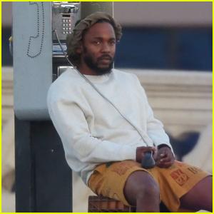 Kendrick Lamar Films New Music Video in Downtown L.A.