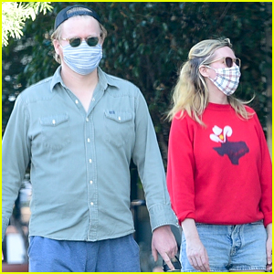 Kirsten Dunst & Jesse Plemons Spotted Out On Rare Walk Around The Neighborhood