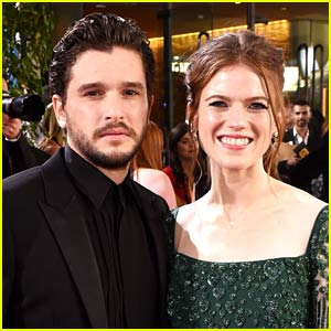 OMG! Kit Harington & Rose Leslie Just Shared Some Big News!