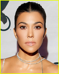 Kourtney Kardashian Wiped Out a Few Times During Her Surf Lesson