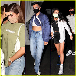 Kylie Jenner Parties With James Charles, Dixie D'Amelio, Noah Beck & More Influencers in West Hollywood