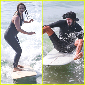 Leighton Meester Goes Surfing With Adam Brody After Welcoming Their Second Child