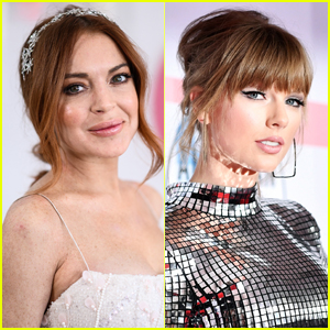 Lindsay Lohan Inexplicably Tweets Taylor Swift With No Message