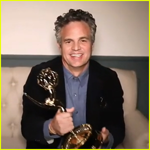 Mark Ruffalo Wins Emmy For Playing Twins; Encourages Fans to Vote & Lead With Compassion