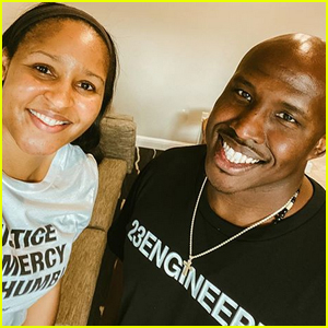 Maya Moore Marries Jeremy Irons, the Man She Helped Free From Prison